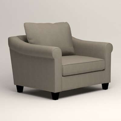 Brooke Armchair Upholstery: Hilo Seagull