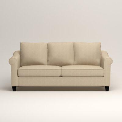Brooke Sofa Upholstery: Hilo Flax