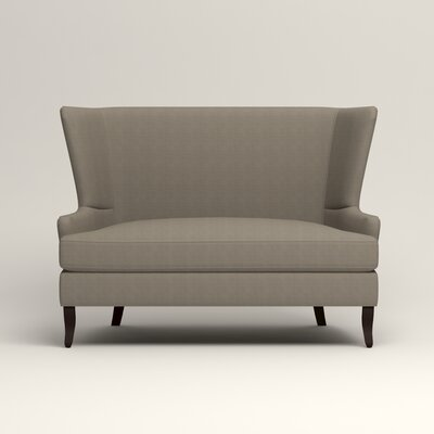 Elliot Settee Upholstery: Hilo Seagull