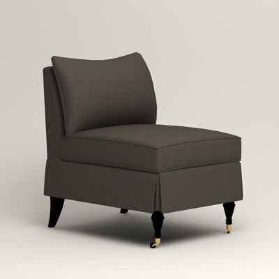 Kendall Slipper Chair Color: Jemma Storm Gray