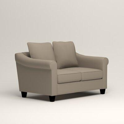 Brooke Loveseat Upholstery: Tibby Linen