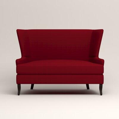 Elliot Settee Upholstery: Bayou Flame