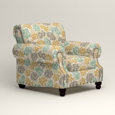Landry Chair Color: Wilmer Blooming Pool