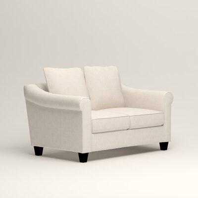 Brooke Loveseat Upholstery: Bevin Natural