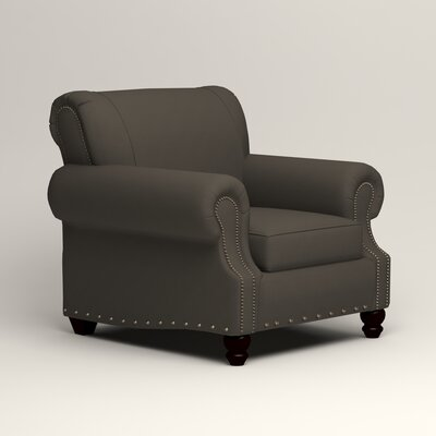 Landry Armchair Upholstery: Tibby Pewter