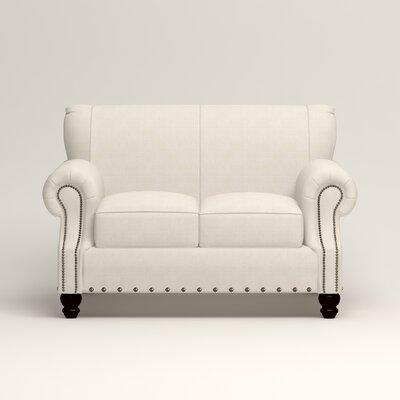 Landry Loveseat Upholstery: Bevin Natural