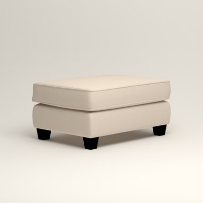 Brooke Ottoman Upholstery: Microsuede Oyster
