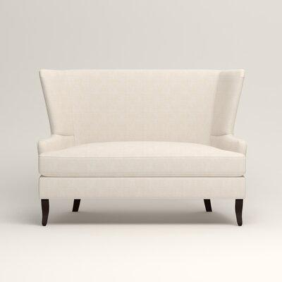 Elliot Settee Upholstery: Bevin Natural