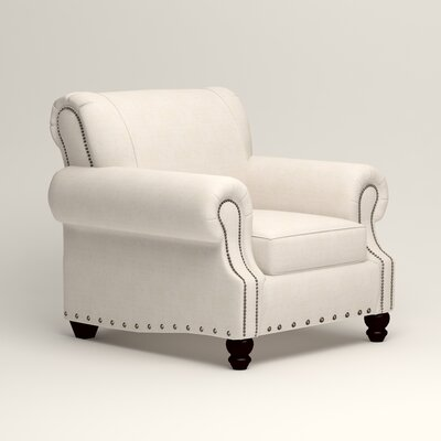 Landry Chair Upholstery: Bevin Natural