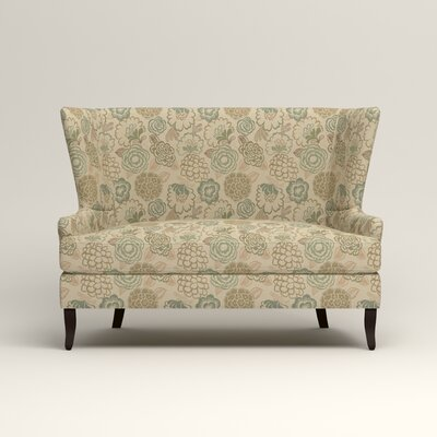 Elliot Settee Upholstery: Okeefe Seabreeze