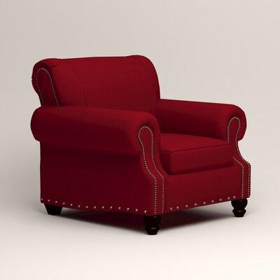 Landry Armchair Upholstery: Bayou Flame
