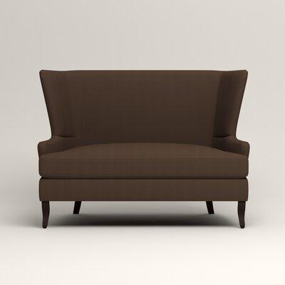 Elliot Settee Upholstery: Bayou Coffee