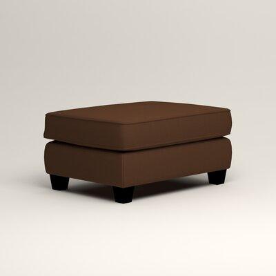 Brooke Ottoman Upholstery: Microsuede Chocolate