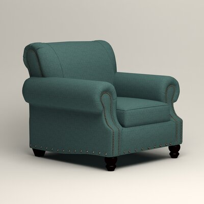 Landry Chair Upholstery: Lizzy Prussian