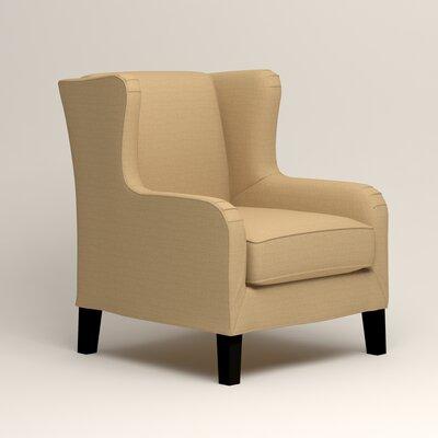 Easton Wingback Chair Upholstery: Trillion Saffron