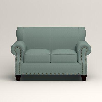 Landry Loveseat Upholstery: Hilo Turquoise