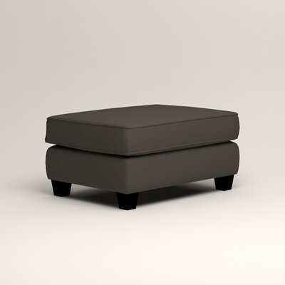 Brooke Ottoman Upholstery: Tibby Pewter