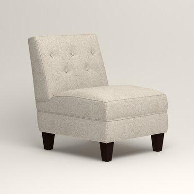 Lesley Slipper Chair Upholstery: Ronan Linen