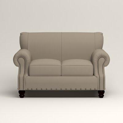 Landry Loveseat Upholstery: Tibby Linen