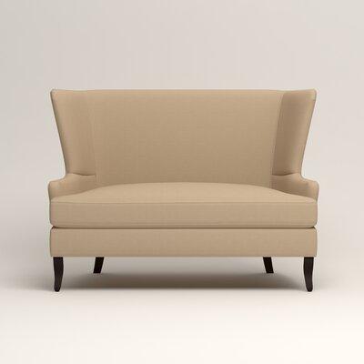 Elliot Settee Upholstery: Bayou Stone