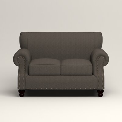 Landry Loveseat Upholstery: Lizzy Graphite