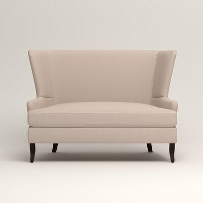 Elliot Settee Upholstery: Lizzy Linen