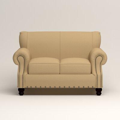 Landry Loveseat Upholstery: Bailey Barley Blended Linen