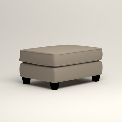 Brooke Ottoman Upholstery: Tibby Linen
