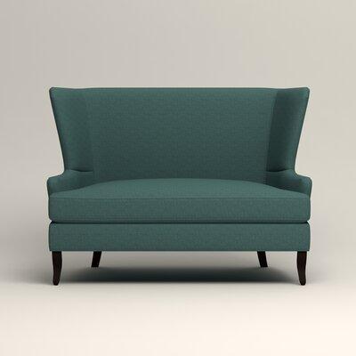 Elliot Settee Upholstery: Lizzy Prussian