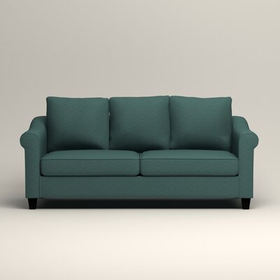 Brooke Sofa Upholstery: Lizzy Prussian