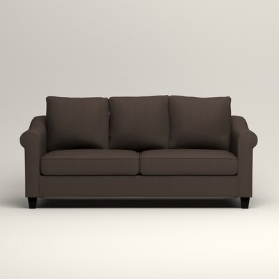 Brooke Sofa Upholstery: Microsuede Charcoal