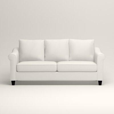 Brooke Sofa Upholstery: Classic Bleach White