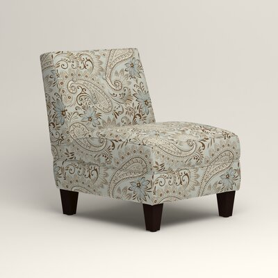 Lesley Slipper Chair Upholstery: Nadia Moonstone