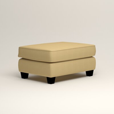 Brooke Ottoman Upholstery: Tillery Sunglow