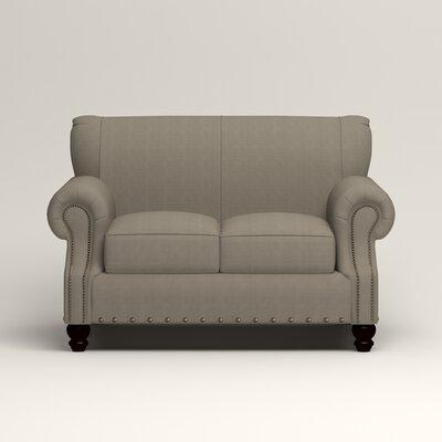 Landry Loveseat Upholstery: Hilo Seagull