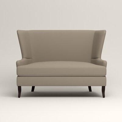 Elliot Settee Upholstery: Tibby Linen