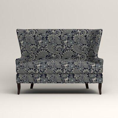Elliot Settee Upholstery: Nadia Denim