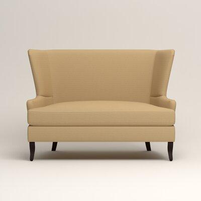 Elliot Settee Upholstery: Trillion Saffron