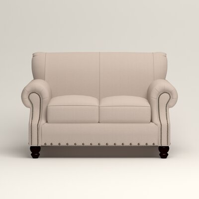 Landry Loveseat Upholstery: Lizzy Linen