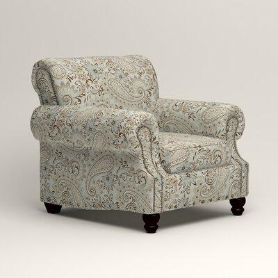 Landry Chair Upholstery: Nadia Moonstone