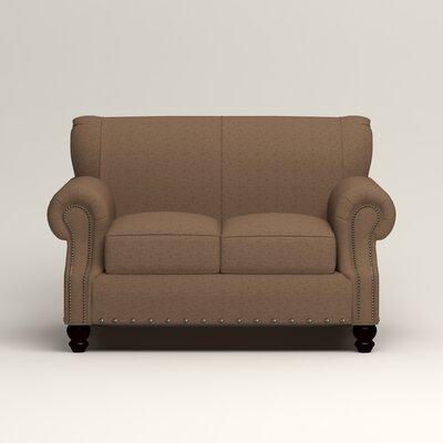 Landry Loveseat Upholstery: Lizzy Hemp