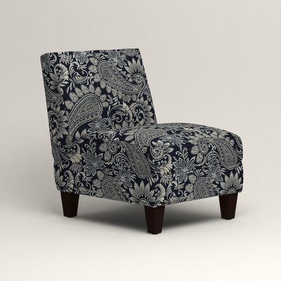 Lesley Slipper Chair Upholstery: Nadia Denim