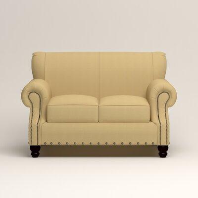 Landry Loveseat Upholstery: Bayou Sunshine