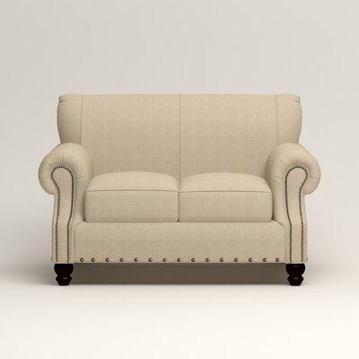 Landry Loveseat Upholstery: Hilo Flax
