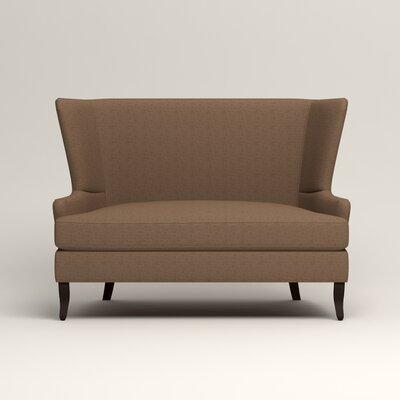 Elliot Settee Upholstery: Lizzy Hemp