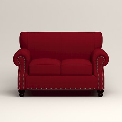 Landry Loveseat Upholstery: Bayou Flame