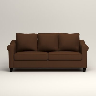 Brooke Sofa Upholstery: Microsuede Chocolate