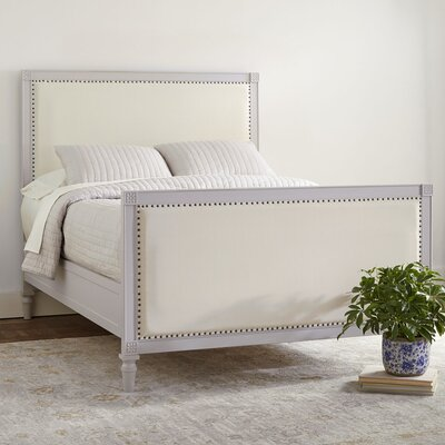 Dobson Upholstered Panel Bed Size: Queen