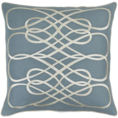 Kristen Pillow Cover Size: 18 H x 18 W x 1 D, Color: Slate