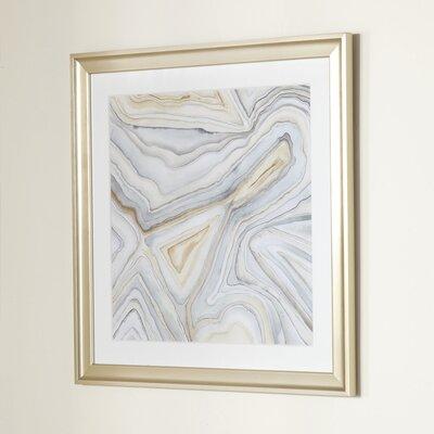 Agate Framed Print I
